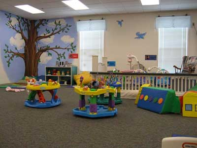 A daycare classroom in Columbus Ohio
