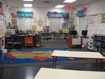A preschool classroom in Columbus Ohio
