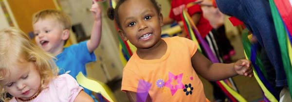 preschool kids are encouraged multiculturalism at daycare